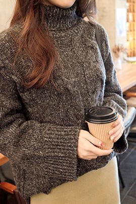 twist mochi, knit