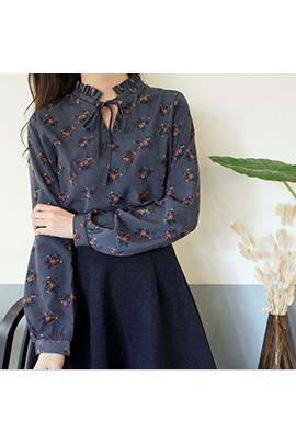 flower rope, blouse