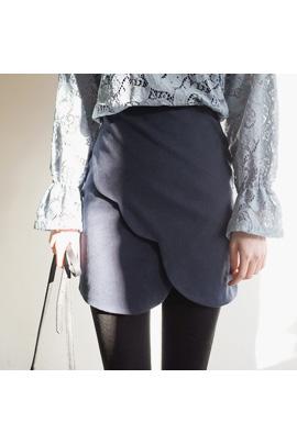 diagonal wave, skirt