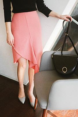 pink coast, skirt