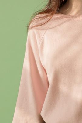 conjunto, knit (pink)