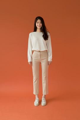emma, pants (beige)