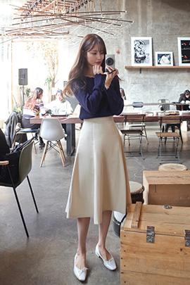 light beige, skirt