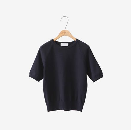 high cotton, knit