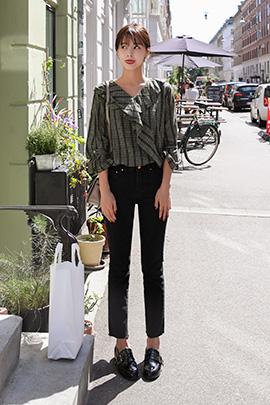 [당일발송] mage, blouse