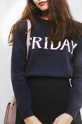Friday, knit