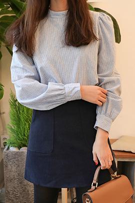 blue divin, blouse