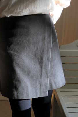 yallo, skirt [기모원단]