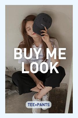 \BUY ME LOOK/Tシャツ+パンツSET販売!