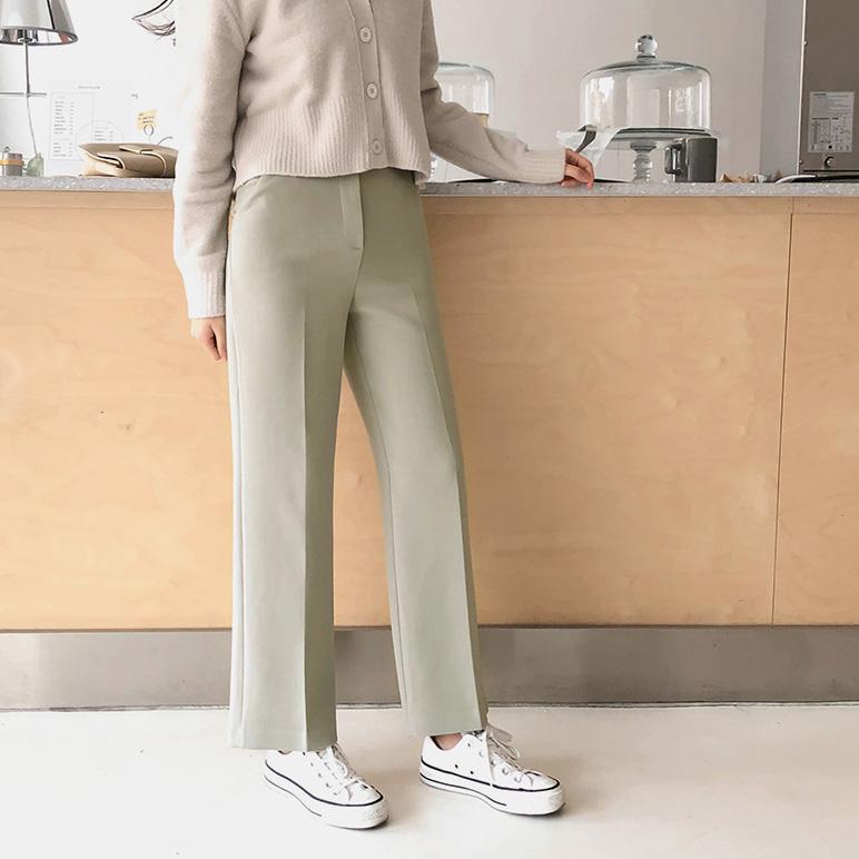 basic wide, pants