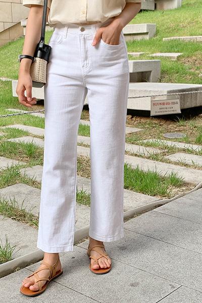 サマーワイド綿パンツ