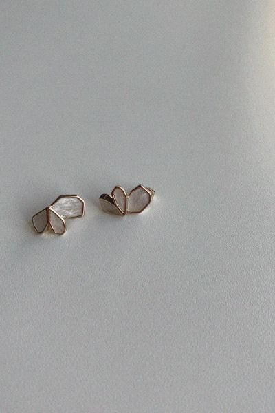 크라운 스톤 귀걸이