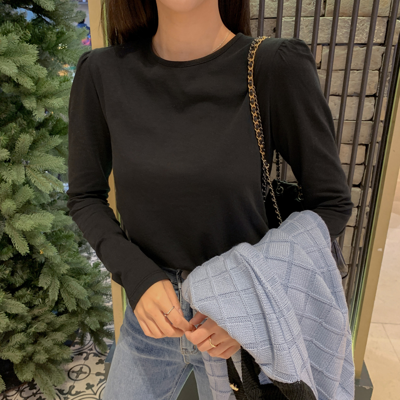 パフコットンTシャツ