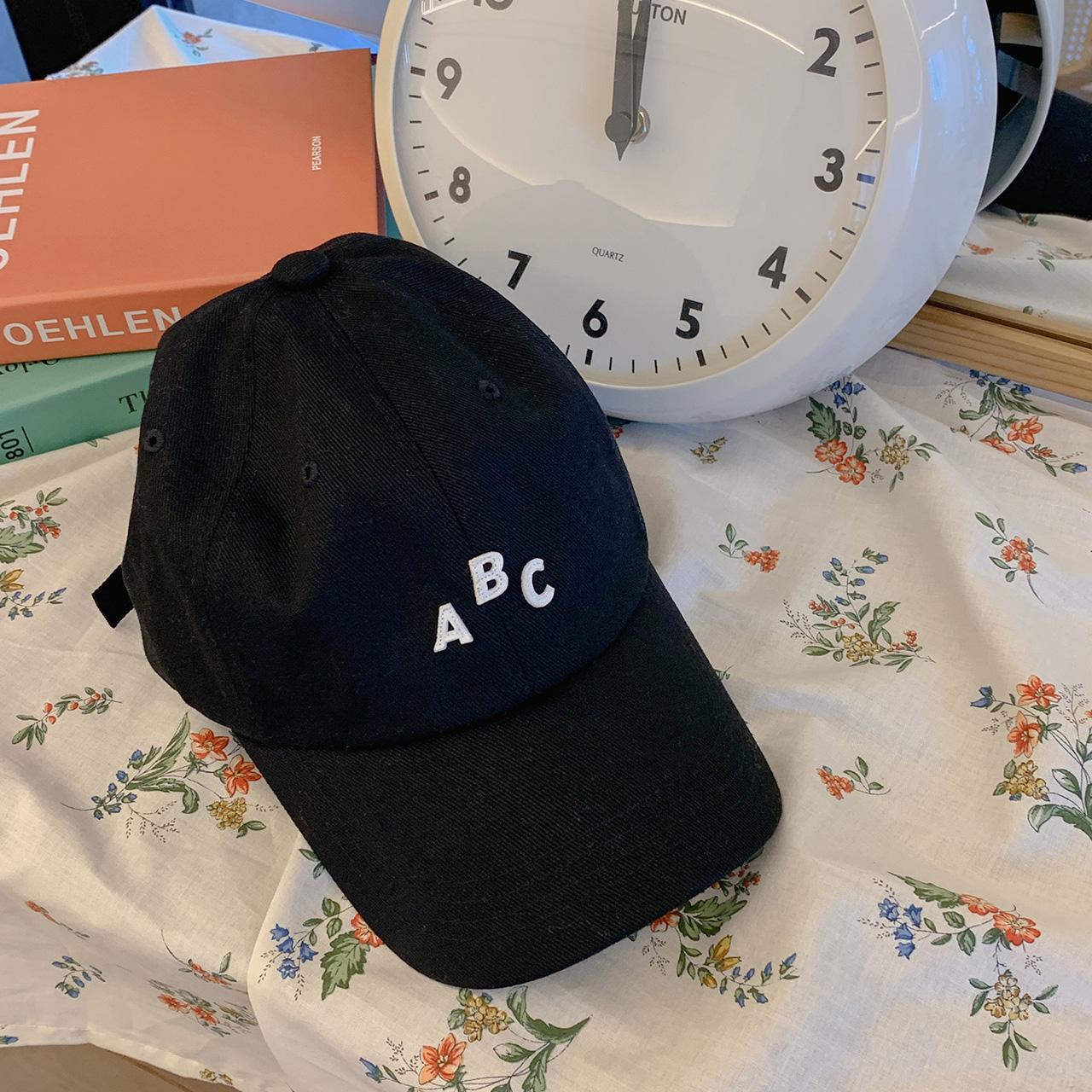 ABCカジュアルキャップ