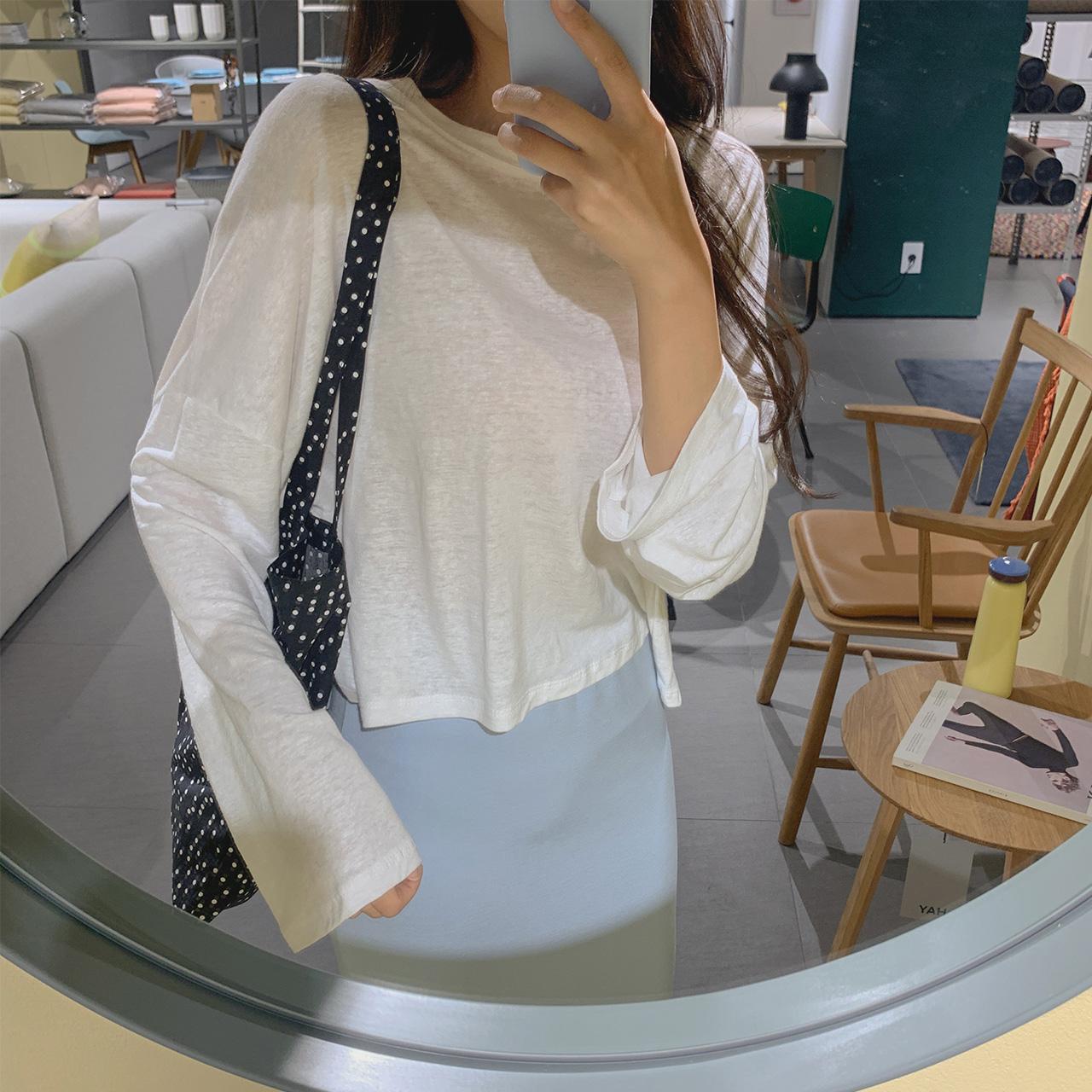 linen Short T-shirt