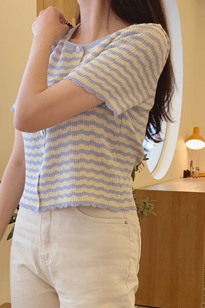Able Short-sleeved Cardigan