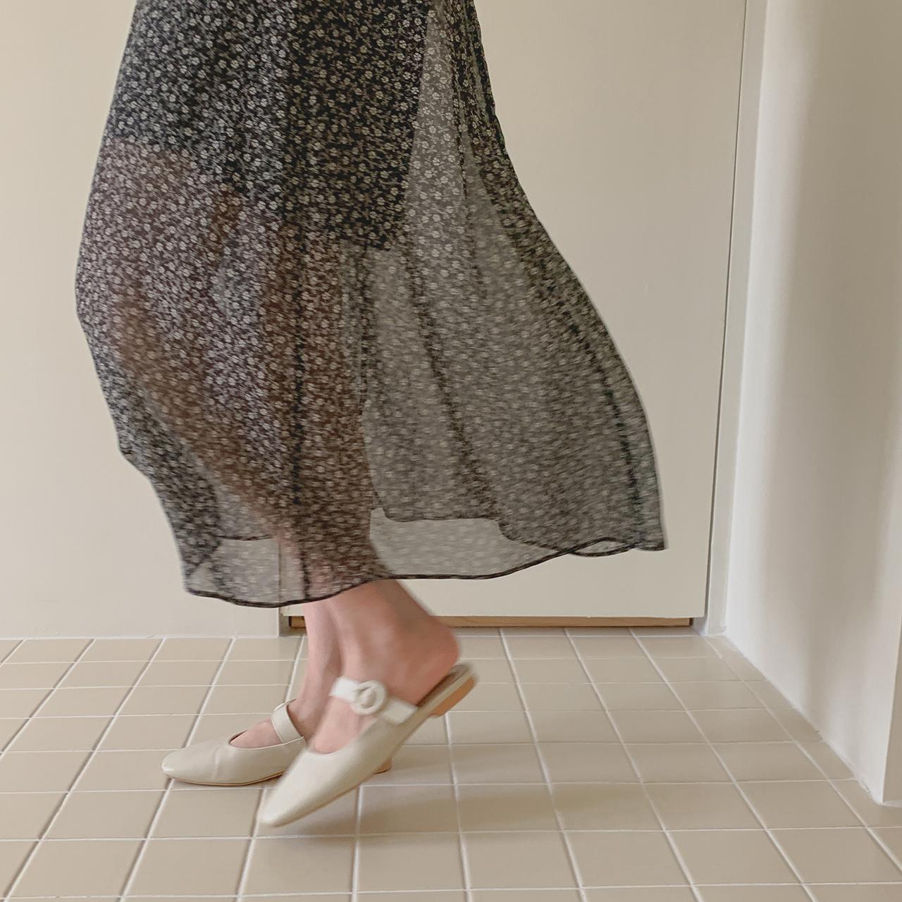Yuna Floor Skirt