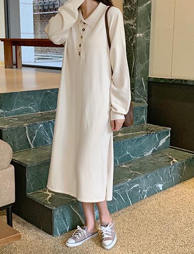 Lime Knit Dress