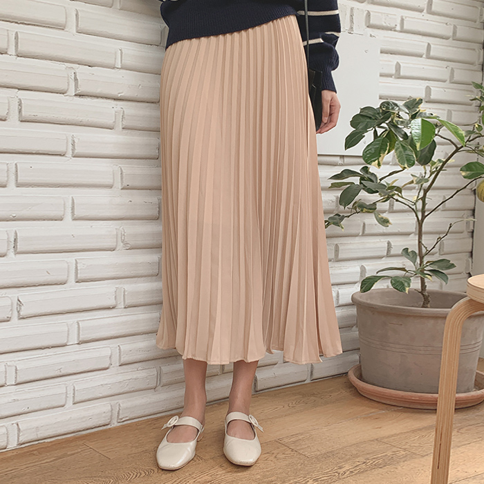 Andy Pleats Skirt
