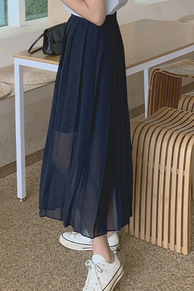 Pier Pleats Skirt